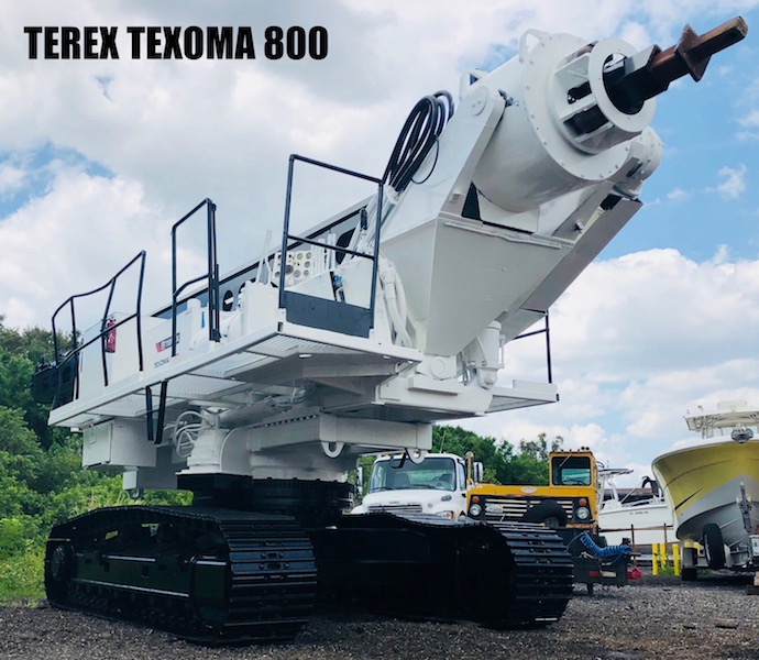 Terex Texoma 800 Auger Drill